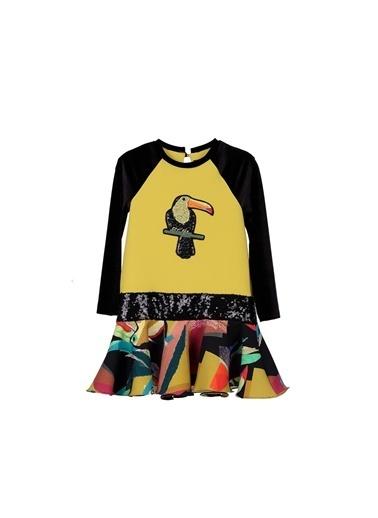 Lia Lea Kız Bebek Desenli Elbise 20Fwllb0200 Renkli